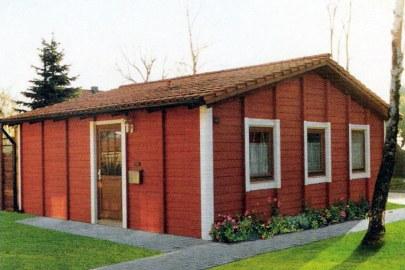 Fertigbau Gartenhaus Stein