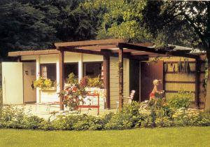 Schönes Gartenhaus gartenhäuser aus stein fertigteilen